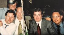 (R-L) Ben Cossar, Chad Benton, Matt, Rick Babcock, Oli Aguilar at Dave Kowalewski's wedding